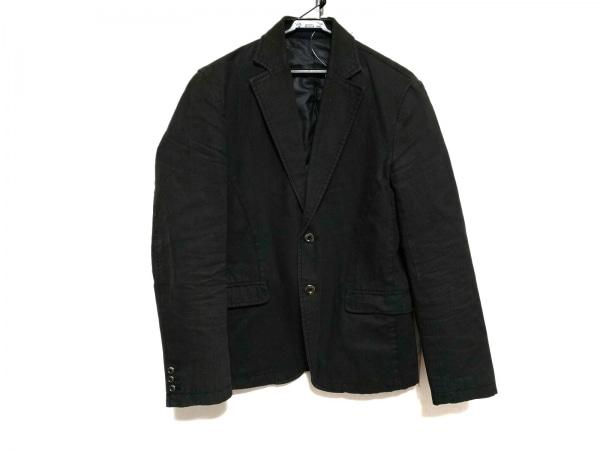 NICOLE CLUB(ニコルクラブ) ジャケット サイズ46 XL メンズ ダークブラウン×グレー