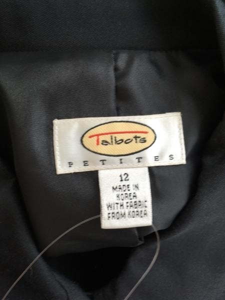 Talbots(タルボット) コート レディース 黒 春・秋物