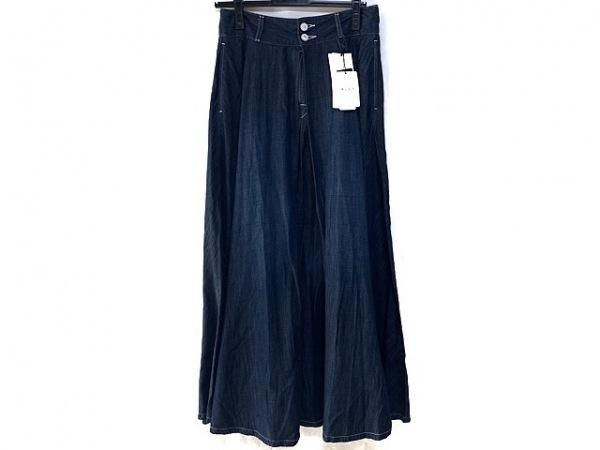 woadblue(ウォードブルー) ロングスカート サイズM レディース美品  ネイビー