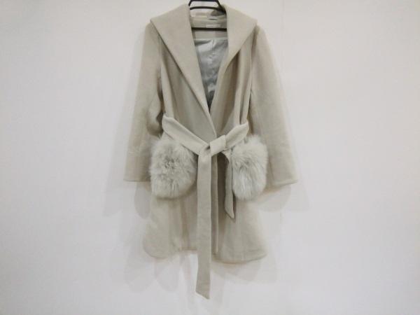 ウィルセレクション コート サイズXS レディース美品  ライトグレー 冬物