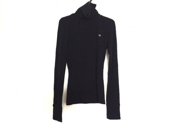 BALENCIAGA(バレンシアガ) 長袖セーター サイズ36 S レディース 黒 ハイネック