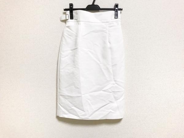 HYALINES(ハイアリン) スカート サイズ34 S レディース美品  白