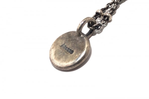 Atease(アティース) ネックレス 金属素材 シルバー