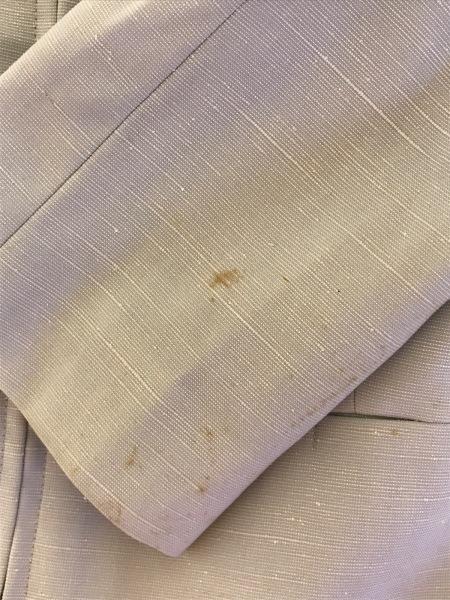 プルミエール スカートスーツ サイズ40 M レディース ライトブルー ジップアップ
