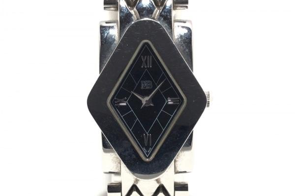 Marina B(マリナ B) 腕時計 テトラ - レディース ダークグレー×黒