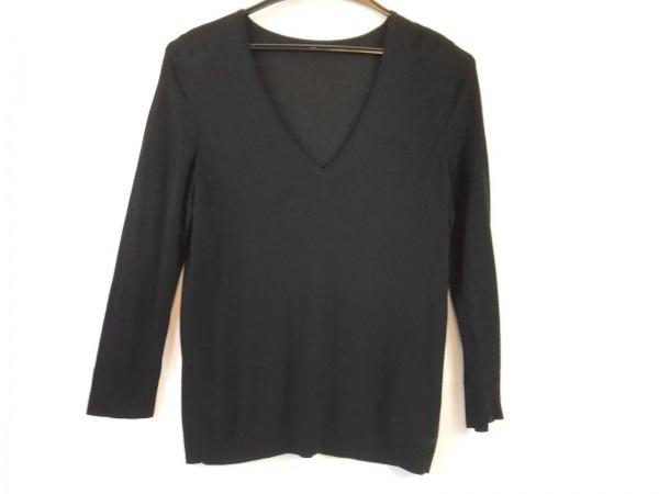 ナチュラルバイフォクシー 長袖セーター サイズ40 M レディース美品  黒