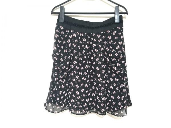 アプワイザーリッシェ スカート サイズ2 M レディース美品  黒×アイボリー×レッド