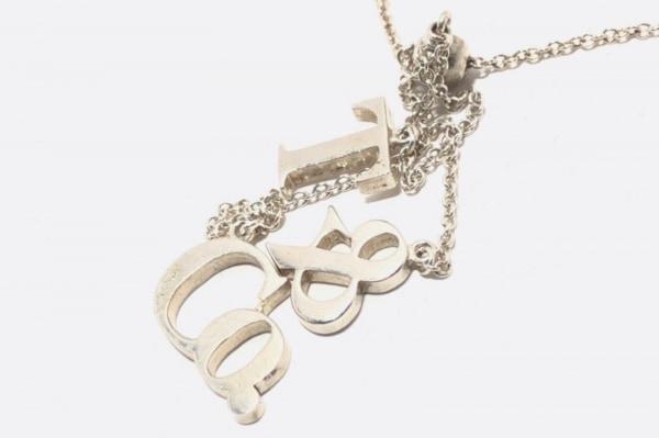 TIFFANY&Co.(ティファニー) ネックレス美品  - シルバー ロゴモチーフ