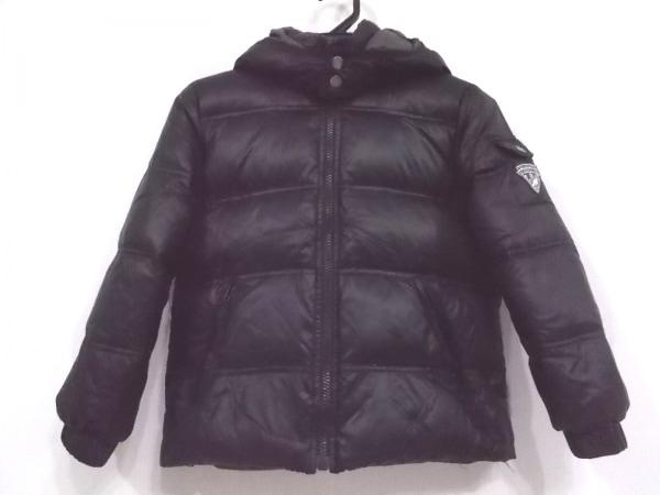 ボンポワン ダウンジャケット サイズ8 M レディース美品  黒 子供服/リバーシブル