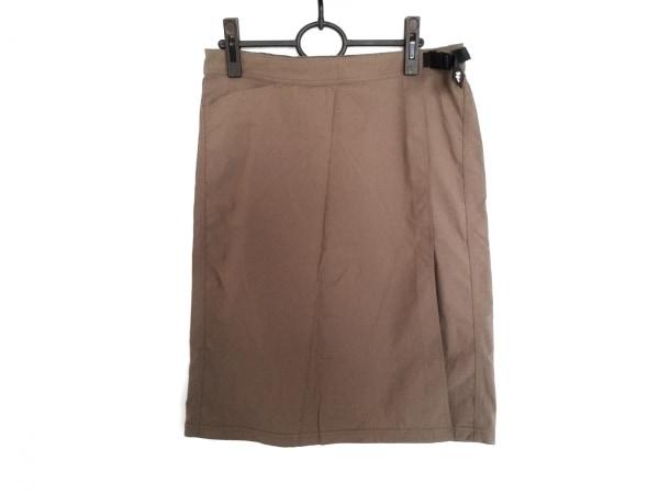 mont-bell(モンベル) 巻きスカート サイズL レディース ブラウン