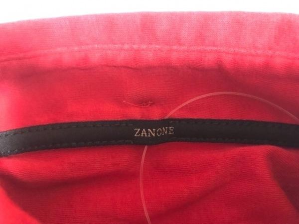 ZANONE(ザノーネ) 半袖ポロシャツ サイズS メンズ レッド