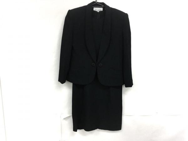 JUN ASHIDA(ジュンアシダ) ワンピーススーツ サイズ9 M レディース美品  黒