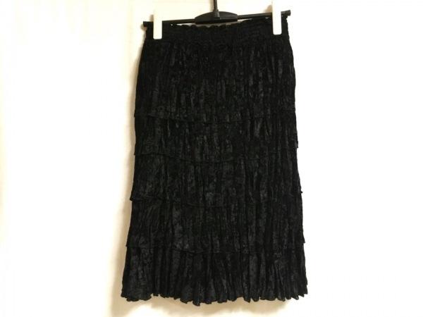 NOKO OHNO(ノコオーノ) スカート レディース 黒 ウエストゴム