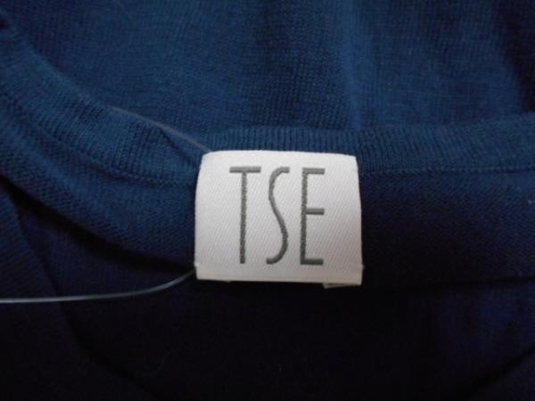 TES(テス) ノースリーブカットソー サイズM レディース ネイビー
