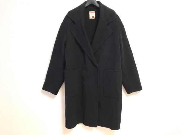 BACCA(バッカ) コート サイズ42 L レディース 黒 冬物