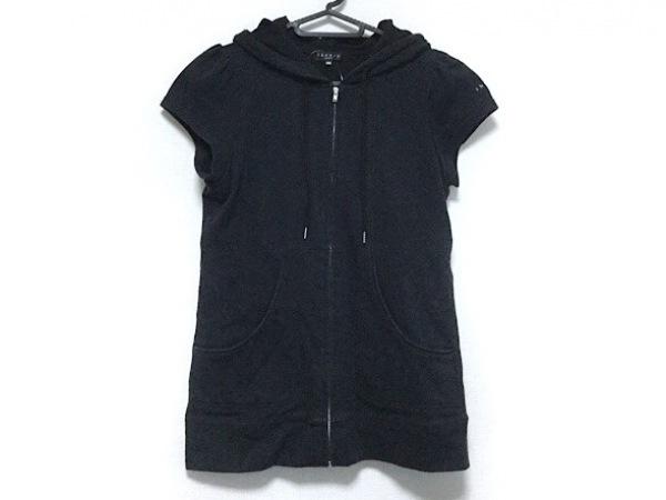 59f95c7e9ca37 theory(セオリー) パーカー サイズ160 レディース 黒 子供服の古着 ...