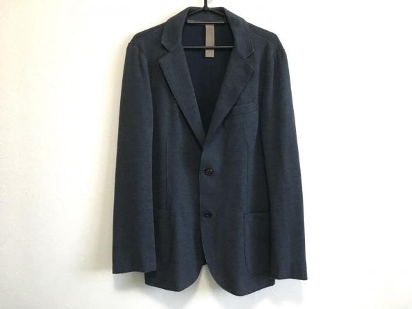 eleventy(イレブンティ) ジャケット サイズ48 XL メンズ ネイビー 薄手