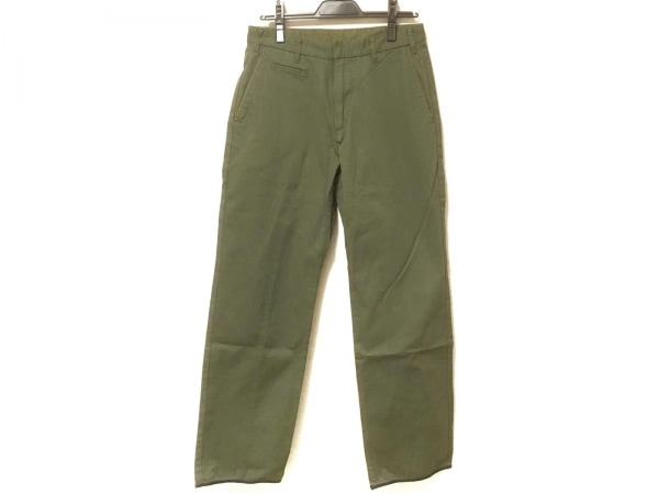 nanamica(ナナミカ) パンツ サイズ32 XS メンズ美品  ダークグリーン