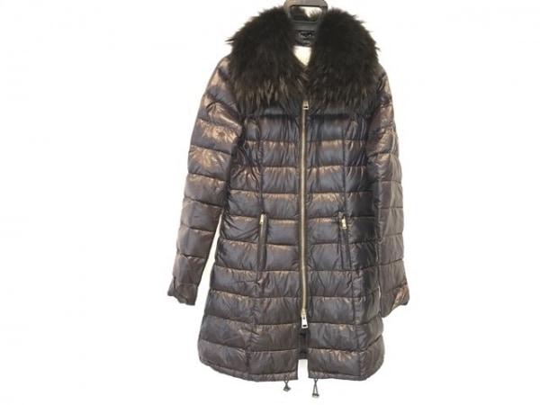 HERNO(ヘルノ) ダウンコート サイズ42 M レディース美品  黒 冬物