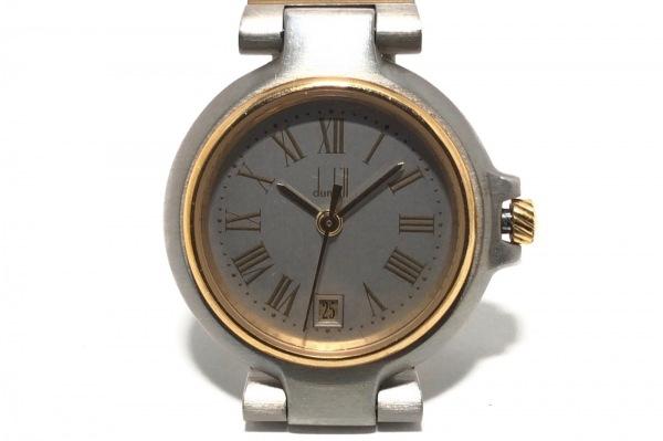 dunhill/ALFREDDUNHILL(ダンヒル) 腕時計 ミレニアム - レディース ライトグレー
