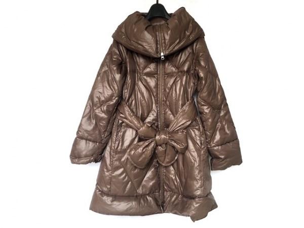 CROLLA(クローラ) ダウンコート サイズ36 S レディース美品  ブラウン 冬物