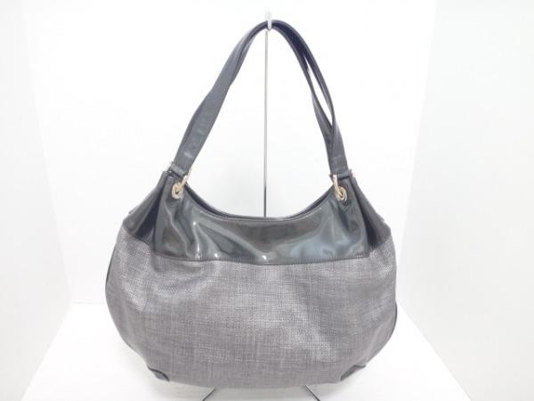 FRESCA(フレスカ) ハンドバッグ美品  ライトグレー×ダークグレー