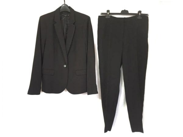 MNG/MANGO(マンゴ) レディースパンツスーツ レディース美品  黒 肩パッド