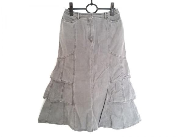 HIROKO BIS(ヒロコビス) スカート サイズ11 M レディース グレー デニム