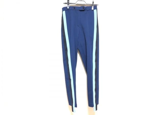 ゴールデングース パンツ サイズS レディース ブルー×ライトブルー×黒