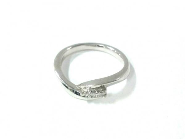 4℃(ヨンドシー) リング美品  K18WG×ダイヤモンド 総重量3.4g