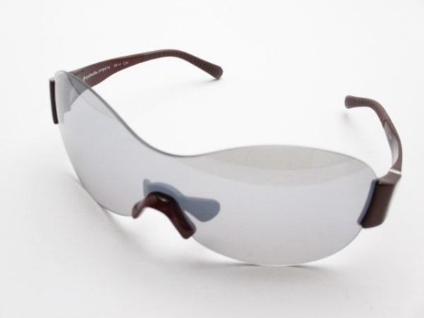 【中古】 アイブレラ eyebrella サングラス 美品 EB-11 グレー ボルドー プラスチック