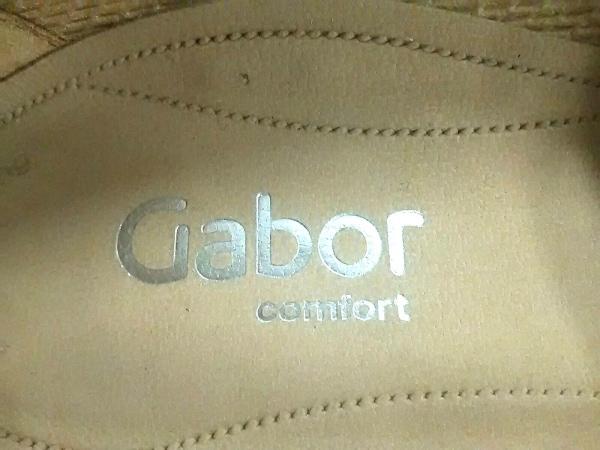 Gabor(ガボール) シューズ G 3 レディース美品  ブラウン レザー