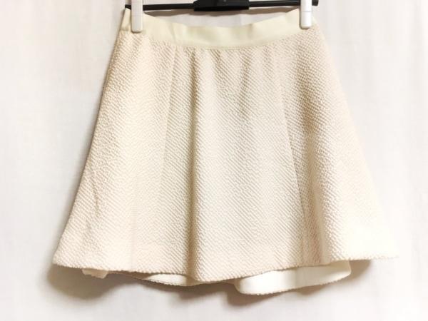 エリザベスアンドジェームス スカート サイズ4 XL レディース美品  白