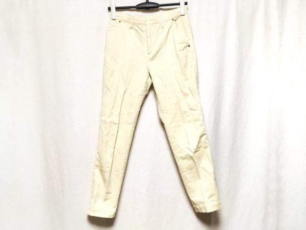 TOMORROWLAND(トゥモローランド) パンツ サイズ34 S レディース アイボリー
