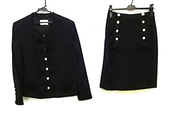 INGEBORG(インゲボルグ) スカートスーツ サイズM レディース 黒