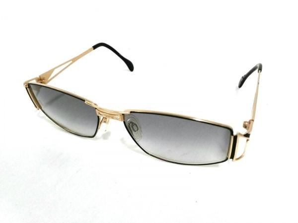 CAZAL(カザール) サングラス 910 黒×ゴールド プラスチック×金属素材