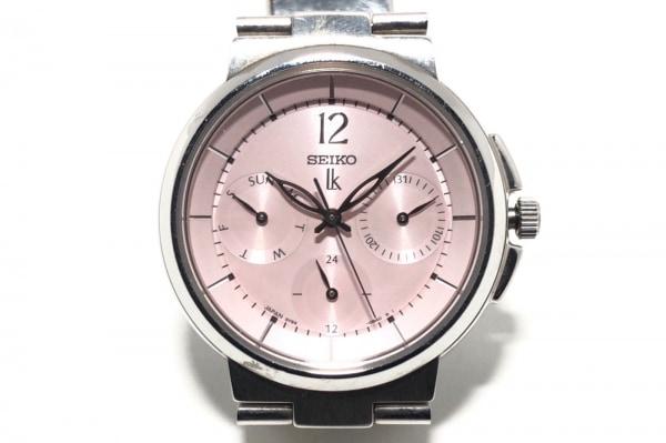 SEIKO(セイコー) 腕時計 ルキア 5Y89-0B70 レディース トリプルカレンダー ピンク