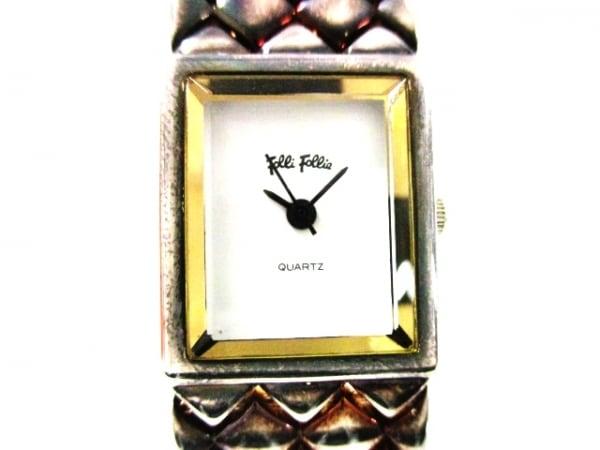 FolliFollie(フォリフォリ) 腕時計 - レディース 白