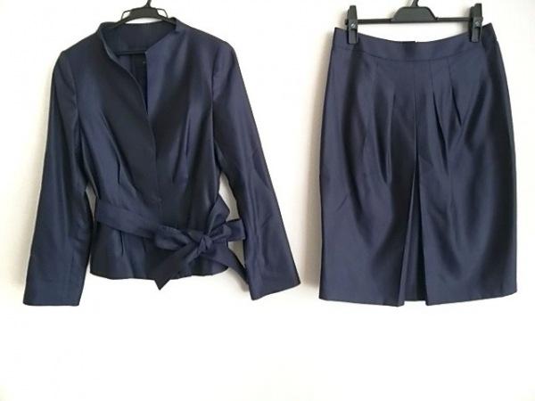 modify(モディファイ) スカートスーツ サイズ42 L レディース ネイビー