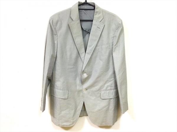 チェスターバリー ジャケット サイズ36 S メンズ美品  カーキ×ライトグレー