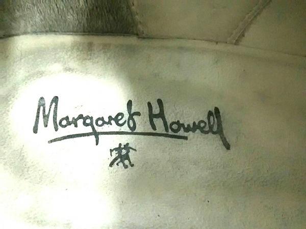 MargaretHowell(マーガレットハウエル) ブーティ 22 レディース美品  黒 スエード