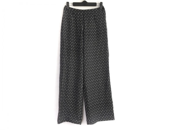 PICONE(ピッコーネ) パンツ サイズ38 S レディース 黒×白×グレー