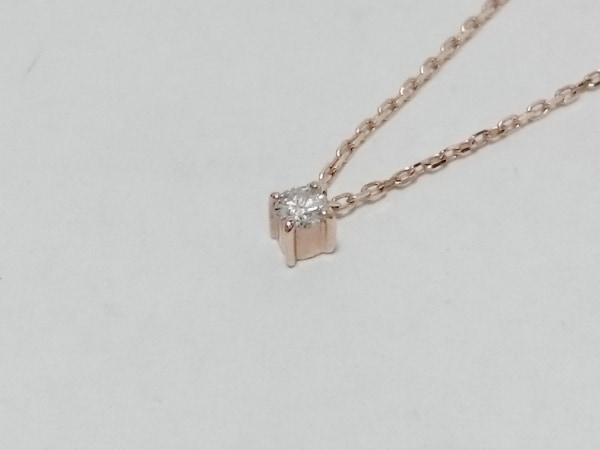 ete(エテ) ネックレス美品  K10×ダイヤモンド