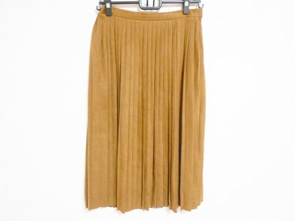 TOMORROWLAND(トゥモローランド) スカート サイズ36 S レディース美品  ブラウン