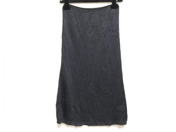 クリッツィアマグリア スカート サイズ44 L レディース美品  黒 ニット