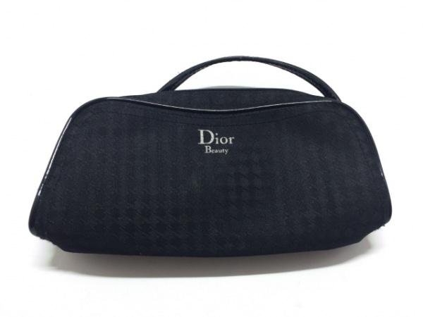 Dior Beauty(ディオールビューティー) ポーチ 黒 化学繊維