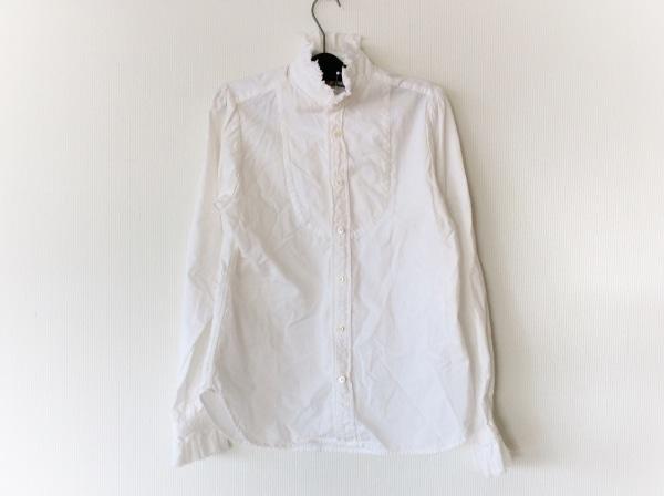 Brocante(ブロカント) 長袖シャツブラウス サイズ2 M レディース 白