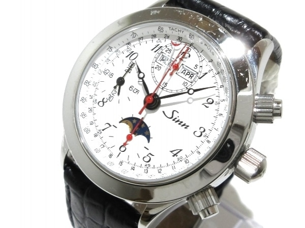 Sinn(ジン) 腕時計 6026 メンズ 白