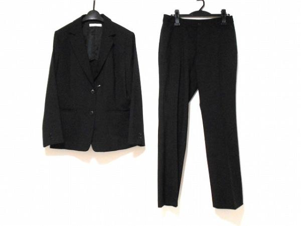 ミントブリーズ レディースパンツスーツ サイズ15 L レディース 黒 肩パッド