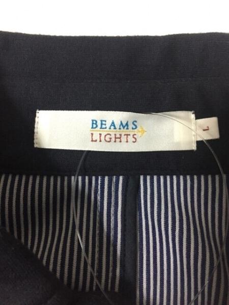 BEAMS Lights(ビームスライツ) ジャケット サイズL メンズ美品  ダークネイビー